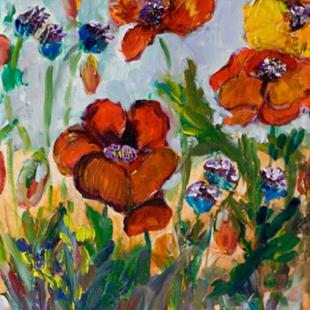 Art: Poppies III by Artist Delilah Smith