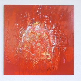 Art: RED HEAT (sold) by Artist Dawn Hough Sebaugh