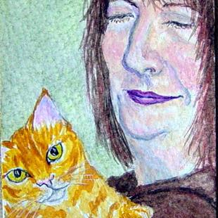 Art: Madeline and Genevieve - Unconditional Love by Artist Tracey Allyn Greene