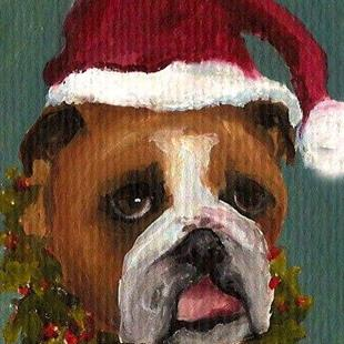 Art: Bernie the Christmas Elf by Artist Deborah Sprague
