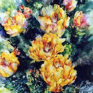 Art: Prickly Pear by Artist Kathy Morton Stanion