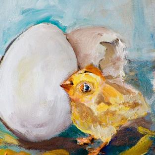 Art: Fresh Hatched by Artist Delilah Smith