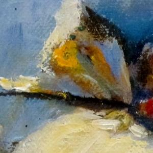 Art: One Chick-sold by Artist Delilah Smith