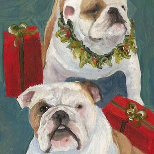 Art: Special Delivery Holiday Cheer by Artist Deborah Sprague