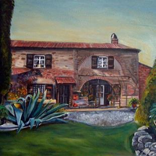 Art: Aloes in Tuscany by Artist Heather Sims