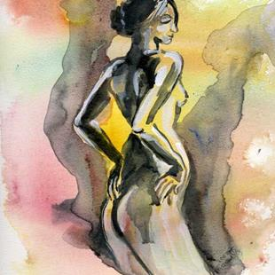 Art: Nude in Counterpoint by Artist Naquaiya