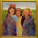 Art: Friendship Quilts by Artist Catherine Darling Hostetter