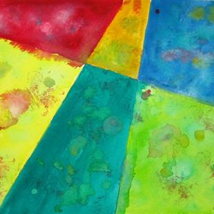 Art: Abstract Aerial  by Artist Dorothy Edwards