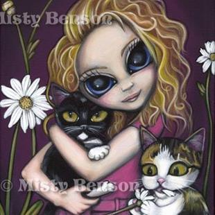 Art: Kitty Love by Artist Misty Monster (Benson)