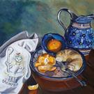 Art: Breakfast: Polish Pottery XXX© by Artist Heather Sims