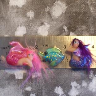 Art: Mermaid Magnets Set 1 by Artist Emily J White