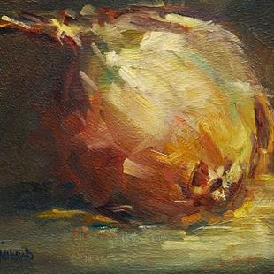 Art: GOLDEN ONION by Artist Diane M Whitehead