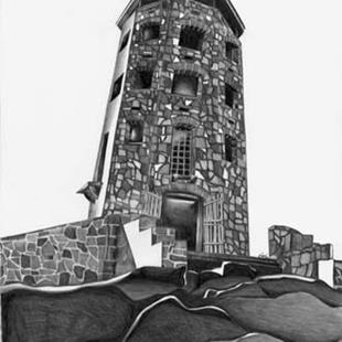 Art: The Tower by Artist Nicole Fekaris