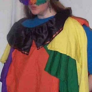 Art: JESTER COSTUME by Artist RUTH J JAMIESON