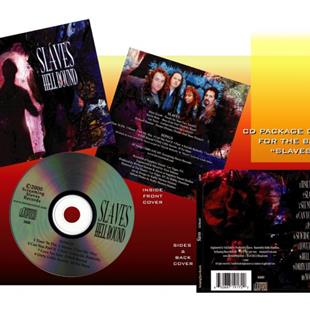 Art: Slaves Cd Package Design by Artist Kathy Morton Stanion