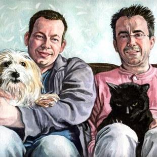 Art: My Family by Artist Mark Satchwill
