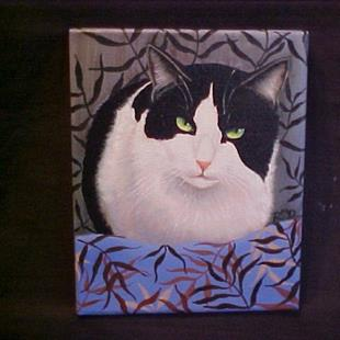 Art: Jingles Cat by Artist Rosemary Margaret Daunis