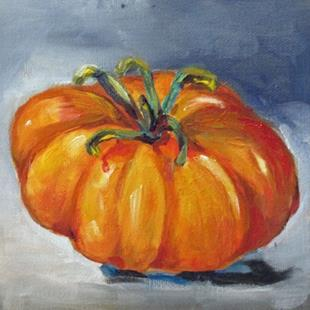 Art: Yellow  HeirloomTomato by Artist Delilah Smith