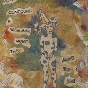 Art: Laughter From A Dunce by Artist Emily J White