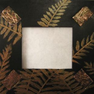 Art: Fern Foto Frame by Artist Donna Gill