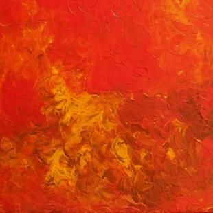 Art: WILDFIRE  SOLD by Artist christi lynn schwartzkopf