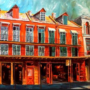Art: Decatur Street Strut - SOLD by Artist Diane Millsap