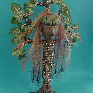 Art: Tree Goddess by Artist Tina Marie Ferguson