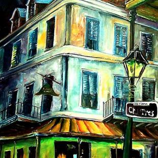 Art: Napoleon House - SOLD by Artist Diane Millsap