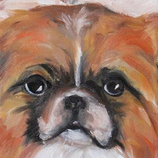 Art: Rescue Puppy by Artist Deborah Sprague
