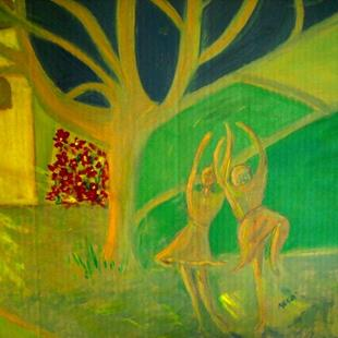 Art: DANCING TREE by Artist Melody Cole Gates