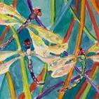 Art: Dragonflies by Artist Delilah Smith