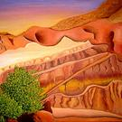 Art: Arch in Moab by Artist Laura Barat