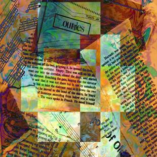 Art: The Color of Words by Artist Carolyn Schiffhouer