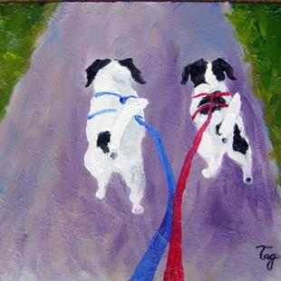 Art: If You Aren't The Lead Dog.... by Artist Tracey Allyn Greene