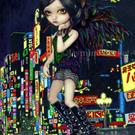 Art: Shinjuku Angel by Artist Jasmine Ann Becket-Griffith