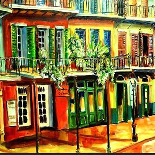 Art: View from Margaritaville - SOLD by Artist Diane Millsap