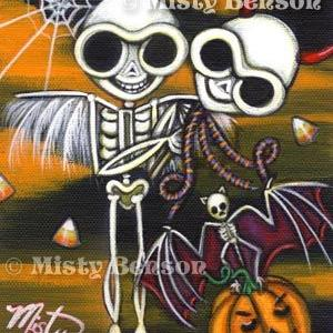 Art: Halloween Bonanza by Artist Misty Monster (Benson)
