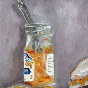 Art: Orange Marmalade-sold by Artist Delilah Smith