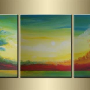 Art: ORIGINAL abstract PAINTING MODERN Art by Artist Nataera
