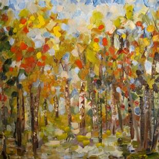 Art: The Color of Fall by Artist Delilah Smith