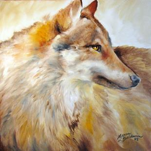 Art: WOLF 18 by Artist Marcia Baldwin