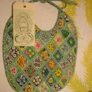 Art: Hip Baby Bib #4 by Artist Lauren K Blair