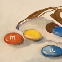 Art: M & M's No.2 by Artist Delilah Smith