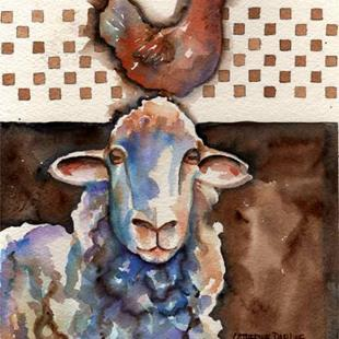 Art: Country Pair by Artist Catherine Darling Hostetter