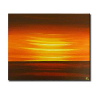 Art: PERFECT SUNRISE by Artist Kate Challinor