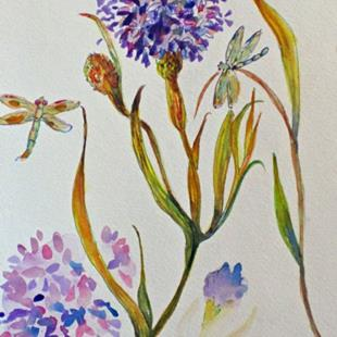 Art: Allium by Artist Delilah Smith