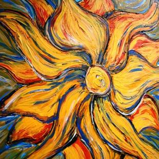 Art: Sunburst Sunshine by Artist Sarah Thomas