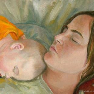 Art: Madonna and Child by Artist Erika Nelson