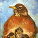Art: For the Birds by Artist Catherine Darling Hostetter