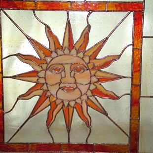 Art: Rising Sun by Artist Linda J. McGarvey